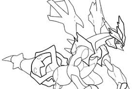 Pokemon Coloring Pages Black And White Zekrom Coloriages Pokemon