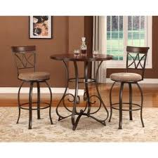 How Tall Are Kitchen Tables by Bar Height Table Set Dining Room Sets Target