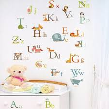 Cheap Wall Decals For Nursery Wall Decal Enchanting Ideas Decals For Walls Alphabet Wall