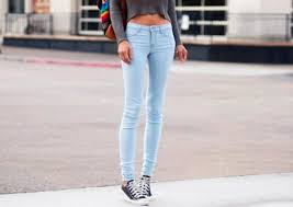 Skinny Jeans And Converse Jeans Skinny Jeans Light Blue Skinny Super Skinny Bag High