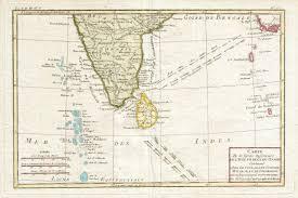 Map Of Maldives File 1780 Bonne Map Of Southern India Ceylon And The Maldives