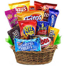 snack basket salty snacks gift basket for same day delivery