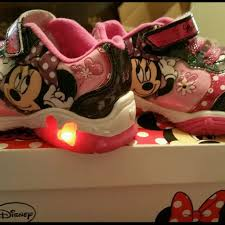 minnie mouse light up shoes find more girls 9c minnie mouse light up shoes for sale at up to 90 off