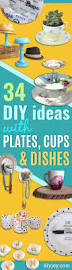34 cool diys to make with plates and dishes diy joy