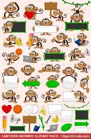 cartoon monkey clipart svg monkeys cute cartoon jungle monkeys