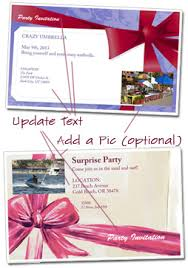 free party invitation templates customize and print