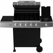 backyard grill 5 burner gas grill black walmart com marvelous