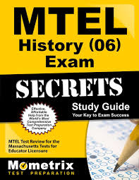 mtel history 06 exam secrets study guide mtel test review for