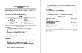 ba sample resume sample resume writing service 88 it support specialist