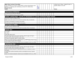 printable checklist samples