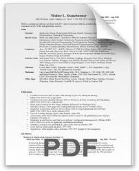 Resume Style Guide Best Resume Format For Experienced Software Engineers Pdf