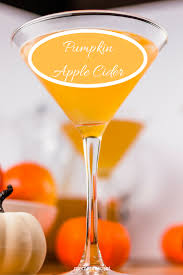 pumpkin martini recipe perfect autumn sparkling pumpkin apple cider san francisco chef
