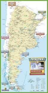Patagonia Map Argentina Maps Maps Of Argentina
