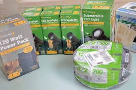 DIY Landscape Lighting The Home Depot - Pond lights home depot