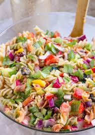 recipes for pasta salad healthy rainbow pasta salad
