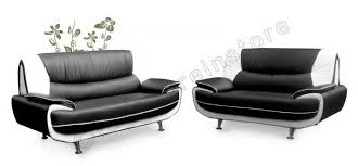passero black and white faux leather sofa range in 3 2 1 seaters