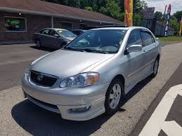 toyota corolla s 2005 for sale 2005 toyota corolla s in seymour tn car depot auto sales inc