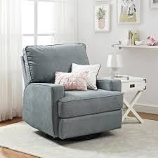dorel living baby knightly oakley swivel gliding recliner gray