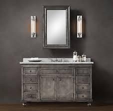 Restoration Hardware Vanity Lights Restoration Hardware Vanity Lights Jeffreypeak Bathroom Cabinets
