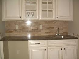 tiles backsplash limestone tile backsplash modern cabinet granite