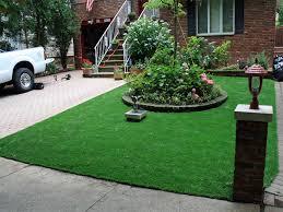 Astro Turf Outdoor Rug Fake Grass Carpet Calvert Texas Front Yard Design