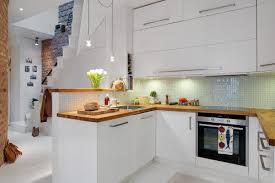 cuisine blanc laqué plan travail bois meilleure décoration de maison contemporaine 2018 meilleure