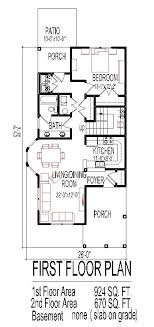 home plans for small lots 10 small home floor plan narrow lot for city houses architecture