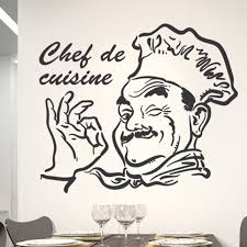 stickers de cuisine chef de cuisine removable decor sticker wall sticker decal for