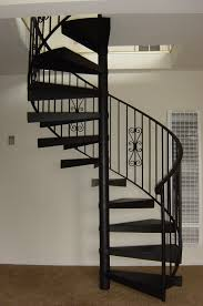 interior modern design with spiral stairs contemporary staircase