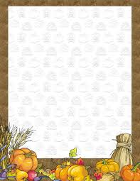 thanksgiving stationery free downloads