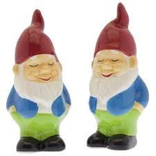humble gnome salt u0026 pepper set salt u0026 pepper shakers unique