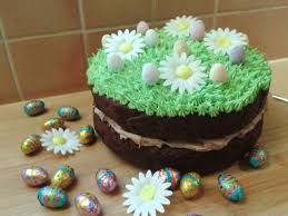 Easter Cake Decorations Recipe Double Chocolate Easter Cake With Mini Eggs Art And Soul