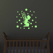 wall decal glow in the dark fairie with the small stars 1 ambiance sticker phos ros a424 jpg