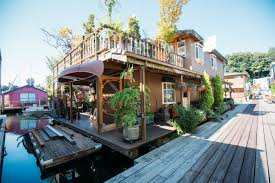 Airbnb Houseboat by Photos Inside A Lake Union Seattle 2 Story Floating Luxurious