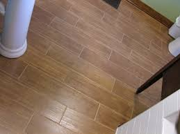 fabulous wood tile bathroom flooring design idea picture gallery