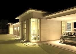 khalid rahman design narrow lot single storey house amended home