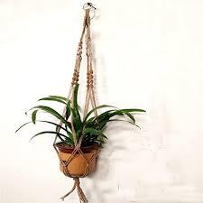 hanging planter basket mkono macrame hanging planter insteading