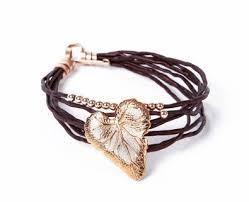 leaf wrap bracelet images Cheap heart leaf bracelet find heart leaf bracelet deals on line jpg