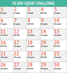 Challenge What To Do 30 Day Squat Challenge Results It Really Works New Health