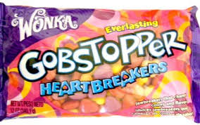 gobstopper hearts gobstopper heartbreakers heart candies 12oz the candy database