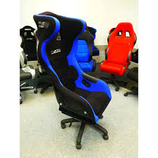 furniture black leather pro series computer gaming chair with