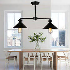 Industrial Island Lighting Wrought Iron Pendant Chandeliers And Ceiling Fixtures Ebay