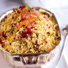 recette cuisine iranienne riz de mariage ou morassa polo