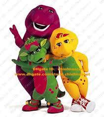 Baby Bop Halloween Costume Funny Barney Baby Bop Bj Dinosaur Mascot Costume Mascotte Dino
