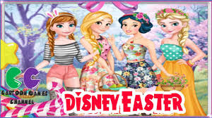 disney easter princess anna rapunzel snow white and elsa youtube