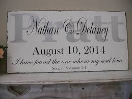 wedding plaques personalized personalized wedding signsilver and black wedding wedding