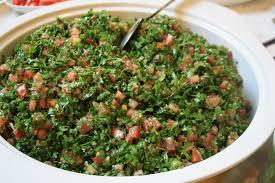 livre cuisine libanaise recette du taboulé libanais