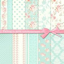 free printable shabby chic paper google search bridal shower