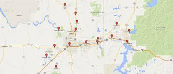 Map Of Spokane Washington Service Areas Lawn Maintenance Spokane Landscaping Companies