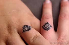 55 cool finger tattoos
